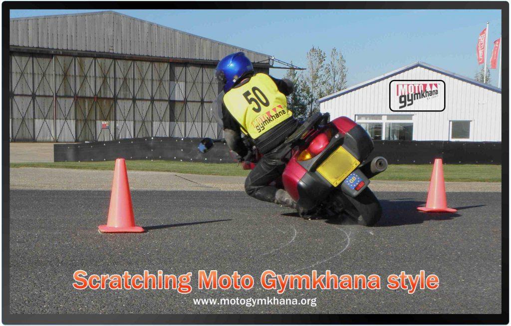 Scratching Moto Gymkhana